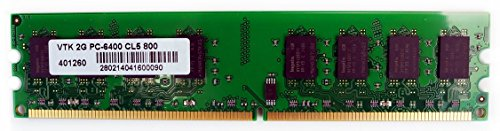 VisionTek 2GB DDR2 800 MHz (PC2-6400) CL5 DIMM, Desktop Memory - 900434 (Pe Design 6 Upgrade compare prices)