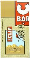 Clif Bar Energy Bar, Peanut Toffee Bu…