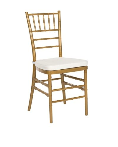 Safavieh Set of 2 Carly Side Chair, Gold