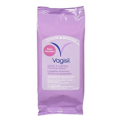 Vagisil Foil Wrap Wipes 12 Count