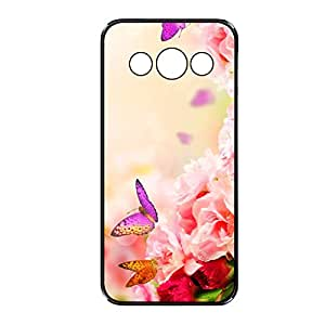Vibhar printed case back cover for Samsung Galaxy E5 PurYelTitli