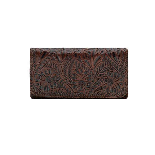 american-west-womens-annies-secret-tri-fold-wallet-brown-one-size