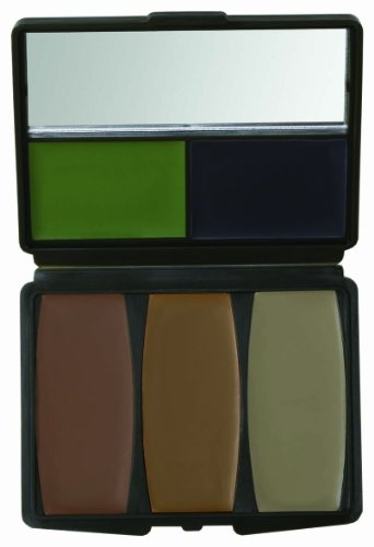 Hunters Specialties 5 Color Military Forest Digital Makeup Kit (Military Green Spray Paint compare prices)