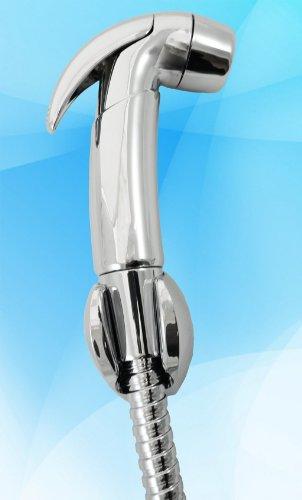 Joy Bidet D1 Handheld Bidet Shattaf With Adjustable Pressure Shut-Off Valve, Cupc Hose Certification