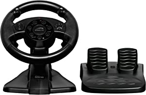 PS3, PC - DARKFIRE Racing Wheel, schwarz