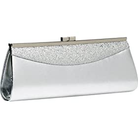 Coloriffics Handbags Glitter Metallic Clutch