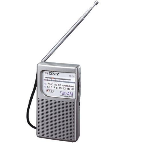 ソニー FM/AMハンディーポータブルラジオ ICF-P21