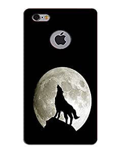 MobileGabbar I Phone 6 Cover logo Cut Back Cover Printed Hard Case