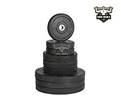 Hard Bodies Spare Rubber Weight Lifting Plates- 1 Kg