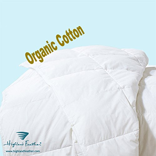 """Elegance 233Tc Organic Cotton 750 Loft Hungarian White Goose Down Comforter King Size 102X90'' Standard Fill 35 Ounce - """"Gyor"""" Collection front-894847"""