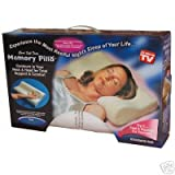 2 x Luxury Contour Orthopedic Memory Foam Pillows Pairby serenity