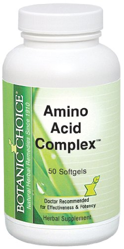 Botanic Choice Amino Acid Complex, 50-Count