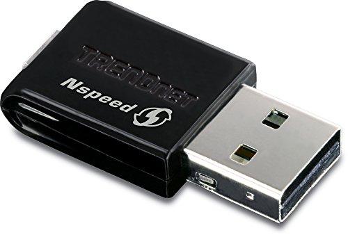 TRENDnet - Mini Adaptateur USB sans Fil N Haut Débit, TEW-649UB