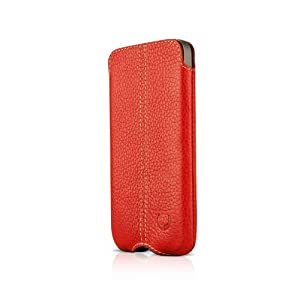 Beyza Leather Soft Slim Zero Series Vertical Pouch Case for iPhone 4 / 4S