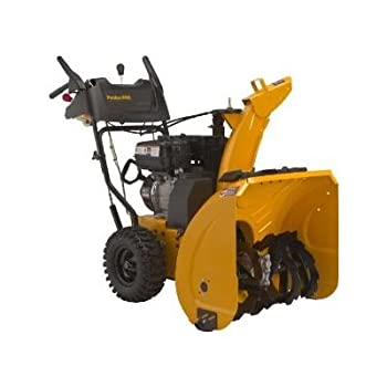 Poulan Pro 208cc 24-inch electric start 2 Stage Snow Thrower PR624ES. Poulan Pro snow throwers are built like a tank and balanced for heavy snow. Easy out of the box set up (10 minutes), Long life and easy to service. Ergonomic handle and easy to use...