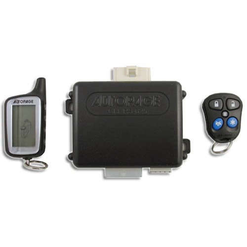 AutoPage Remote Car Starter with Keyless Entry Two-Way And Data Bus Communication Port - C3-RS625