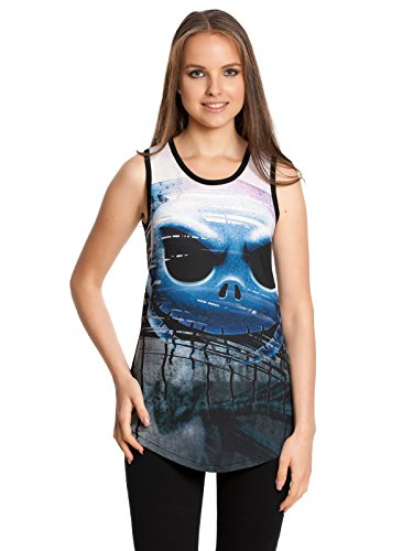 The Nightmare Before Christmas Nasty Top donna nero XS