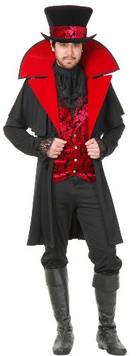 Charades Jack the Ripper Vampire Adult Costume