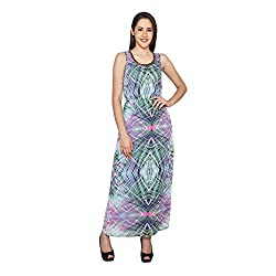 CJ15 Multicolor Georgette Sleeveless Sequins Gowns For Women