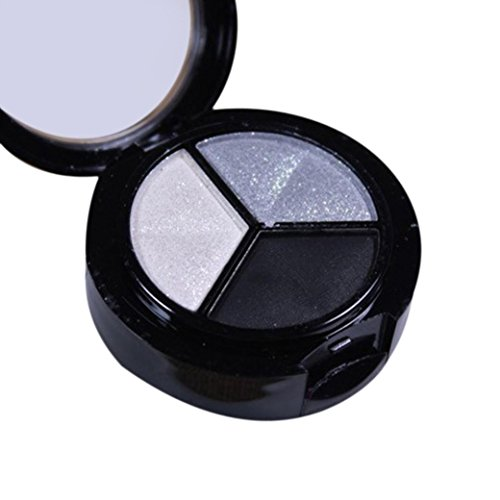 Eye shadow Sandistore moky Cosmetic Set 3 colors Professional Natural Matte Makeup Eye Shadow (Multicolor 1)