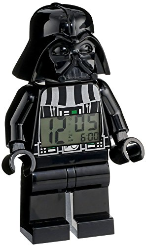 Lego Kids' 9002113 Star Wars Darth Vader Mini-Figure Alarm Clock front-864367