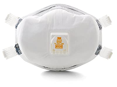 3M Particulate Respirator 8233, N100-4 Count from 3M