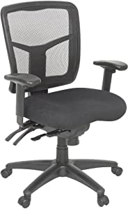 Regency Seating Kiera Management Swivel Chair with Mesh Back and Racket Back Height Adjustments