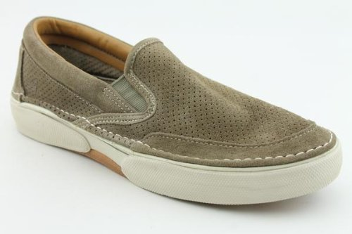 Sperry Top-Sider Men's Sport Striper Slip-On,Taupe,10 M
