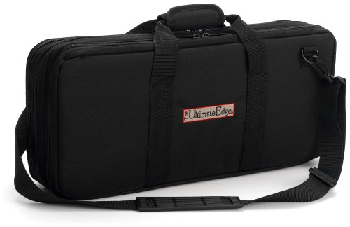 The Ultimate Edge 18 piece Knife Case with Full Accessory Compartment