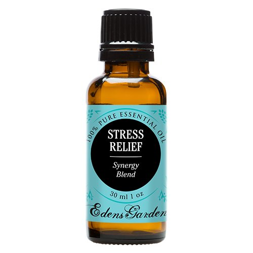 Stress Relief Synergy Blend Essential Oil by Edens Garden (Bergamot, Patchouli, Blood Orange, Ylang Ylang & Grapefruit)- 30 ml