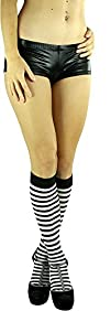 ToBeInStyle Women's Opaque Striped Kn…