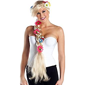 Braided Beauty Wig Costume Accessory