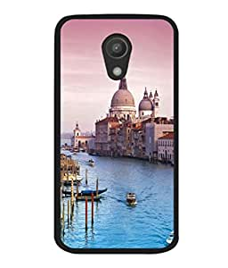 printtech Italy Sea Building Dome Back Case Cover for Motorola Moto G2 X1068 , Motorola Moto G (2nd Gen)