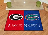 Fanmats 06030 Georgia - Florida All-Star House Divided Rug