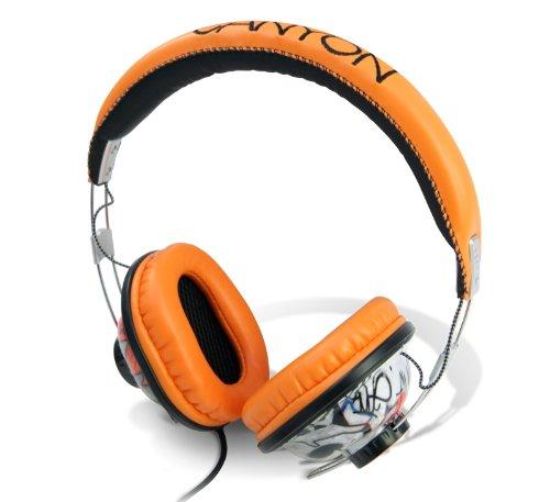 Canyon CNL-HP02B Kopfhörer schwarz / orange