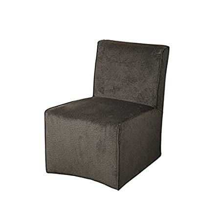Sia Home Fashion Polyester Comfy Armchair, Brown