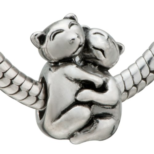 Cute Cats Bead - Pandora Charm & Bracelet Compatible