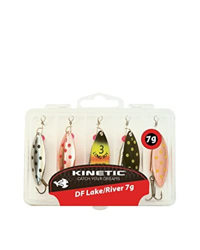 Kinetic Esca Artificiale x5 Lake/River 7G Multicolore