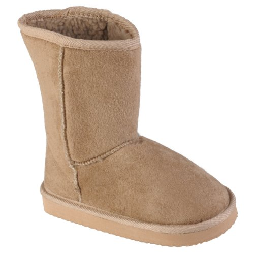 Journee Kids Girls Faux Suede Mid-calf Boots