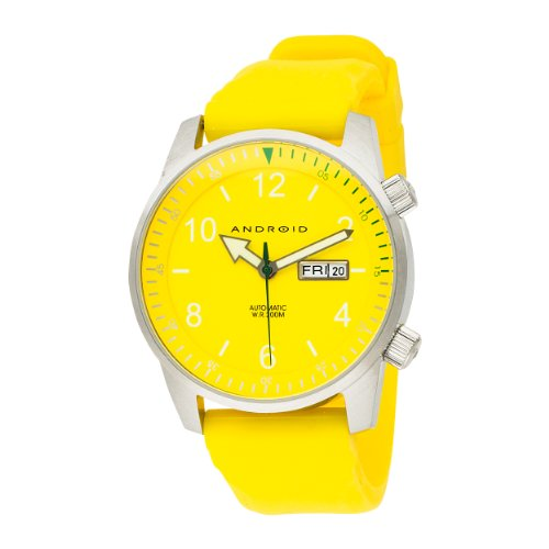 Android Men's AD267BYLOctopuz Automatic Yellow Dial Watch