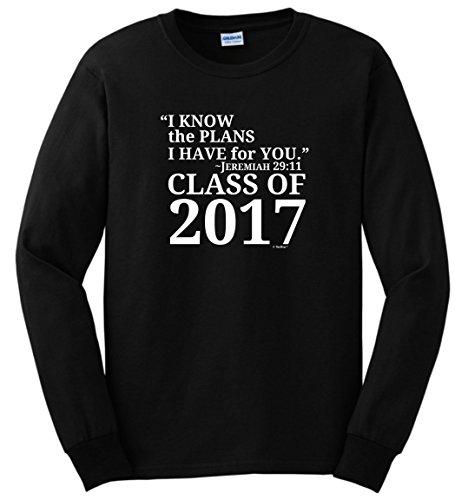Christian-Graduation-Gift-Jeremiah-2911-Class-2017-Long-Sleeve-T-Shirt