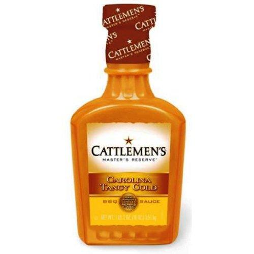 CATTLEMEN'S Master's Reserve Carolina Tangy Gold BBQ Sauce: 18 OZ