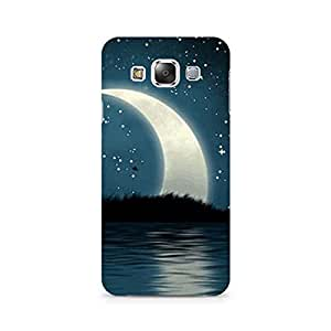 Mobicture Moon Premium Designer Mobile Back Case Cover For Samsung E7