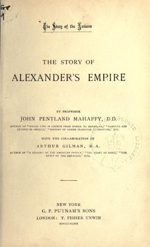 The Story of Alexander's Empire