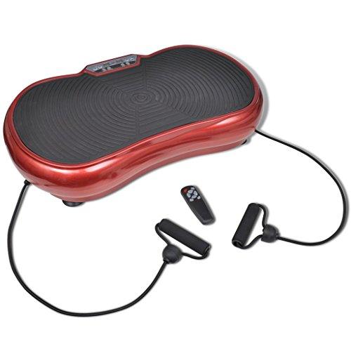 vidaXL Trainingsplatte Vibrationsplatte Fitnessgeräte klein 200 W