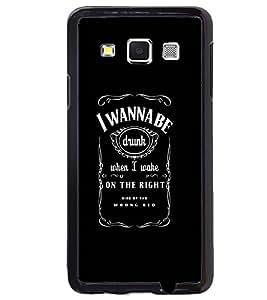 Printvisa Black And White Good Times Quote Back Case Cover for Samsung Galaxy E5::Samsung Galaxy E5 E500F