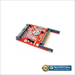 CF Compact Flash Type I/II to Serial SATA Adapter