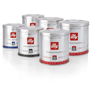 Order illy Iperespresso 126 Coffee Capsules - Mixed Case by illy
