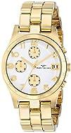 Marc Jacobs Henry Quartz Gold Tone Bracelet Womens Watch  MBM3039