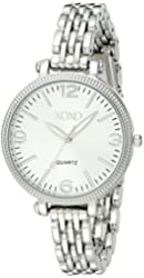 XOXO Women's XO5753 Silver-Tone Bracelet Watch